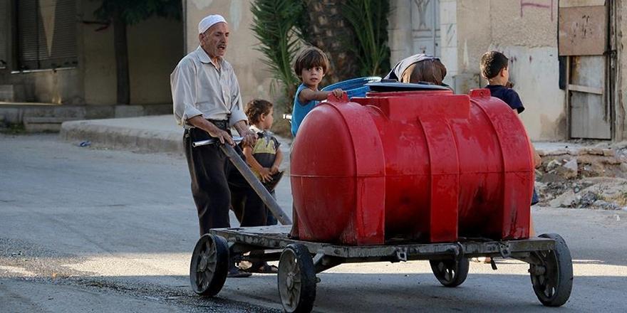 Şam'ın Doğu Guta Bölgesi Açlığın Pençesinde!