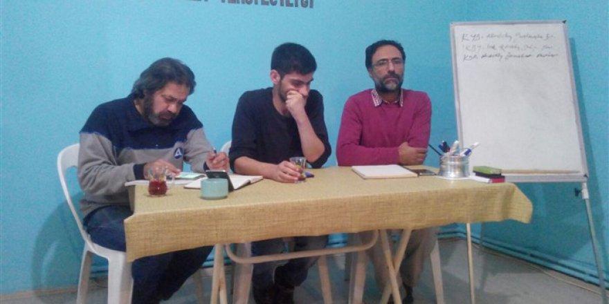 Kocaeli Özgür-Der'de IKBY Referandumu ve İdlib Harekâtı Konuşuldu