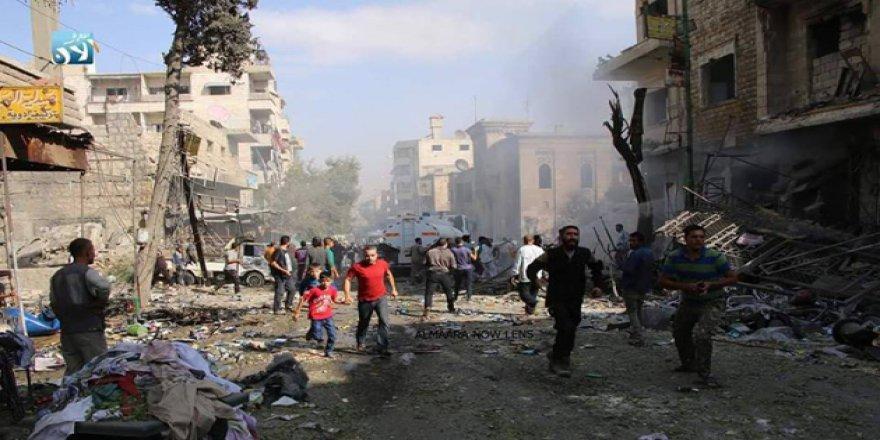 İdlib'de Hava Saldırısı: 12 Ölü