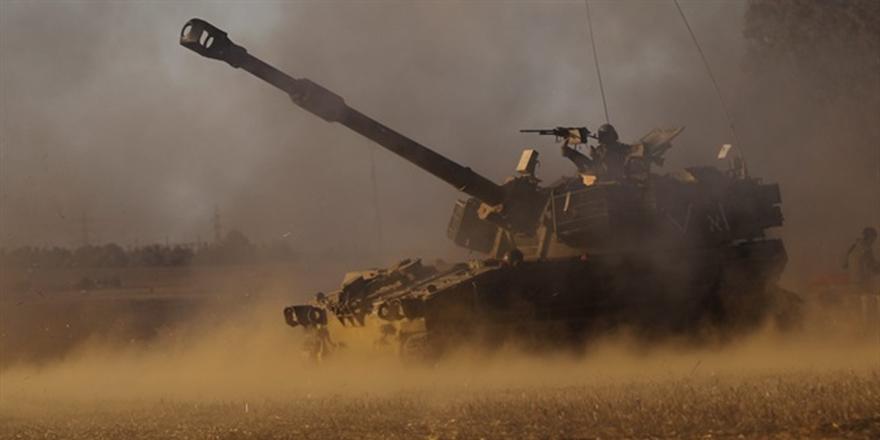 İşgalci İsrail'den Gazze'ye Tank Saldırısı!