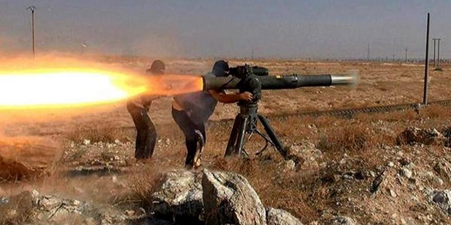 Direnişçiler Hama'da Esed Güçlerini Füzeyle Hedef Aldı!