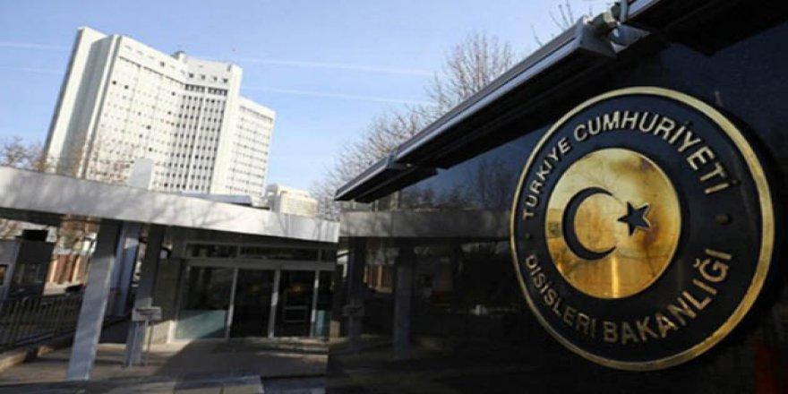 ABD'nin Ankara Büyükelçiliği Müsteşarı Dışişleri'ne Çağrıldı