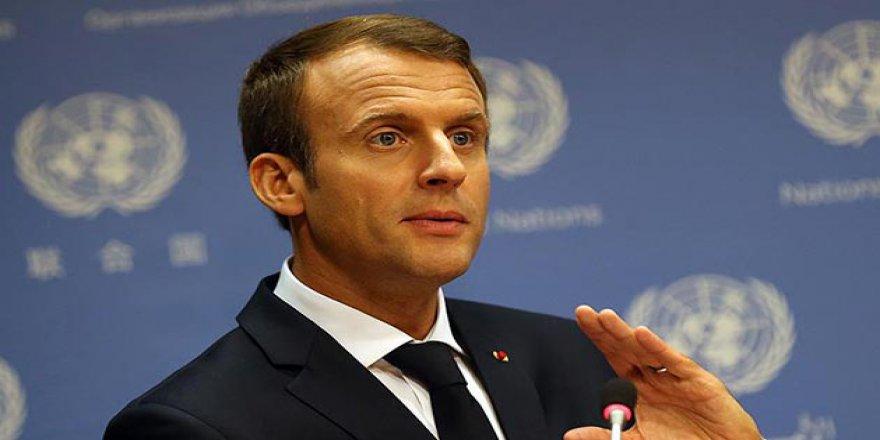 Macron'dan Mülteci Açıklaması