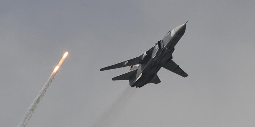 Suriye'de Rusya'ya Ait Bir Savaş Uçağı Düştü!