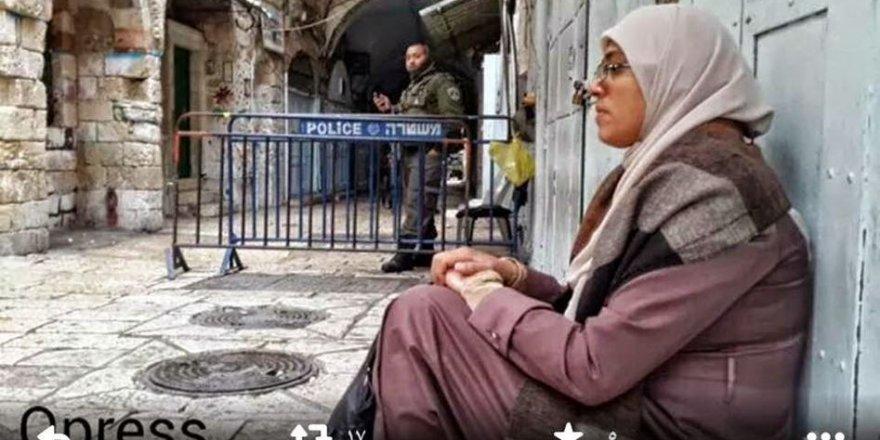 Kudüslü Kadın Murabıt İşgal Zindanlarında Gördüğü Kötü Muameleyi Anlattı