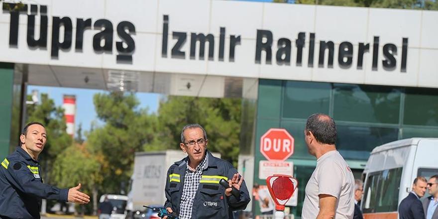 Tüpraş İzmir Rafinerisi'nde Patlama
