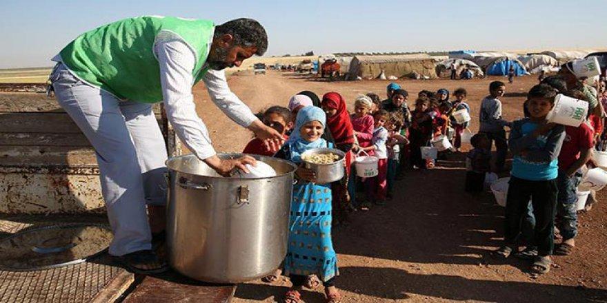 'Suriye'de 13 Milyon İnsan Yardıma Muhtaç'