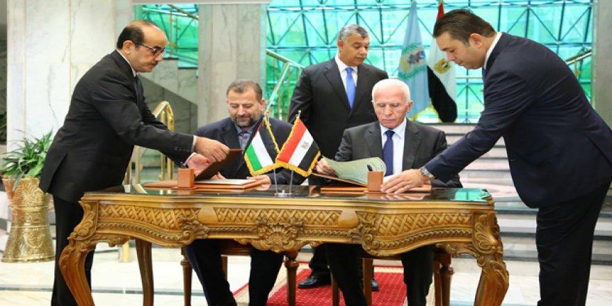 Hamas ve Fetih Uzlaşı Anlaşmasını İmzaladı