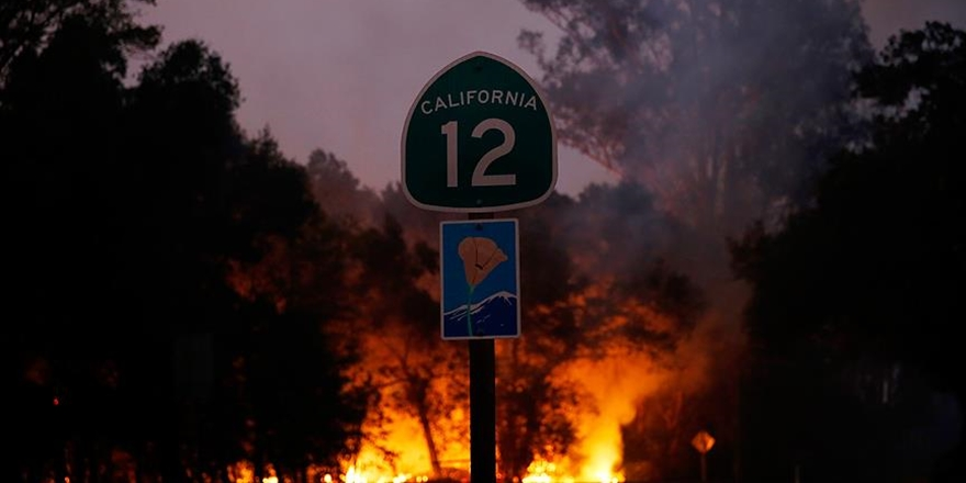 Kaliforniya'daki Orman Yangınları: Ölü Sayısı 40'a Yükseldi