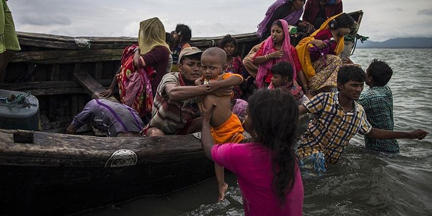 """""""Arakan'dan Bangladeş'e Geçenlerin Sayısı 603 Bin Oldu"""""""