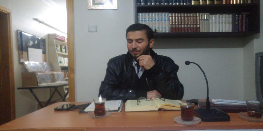 """Sivas Özgür-Der'de """"Dinin Tahrif Edilmesi"""" Konuşuldu"""