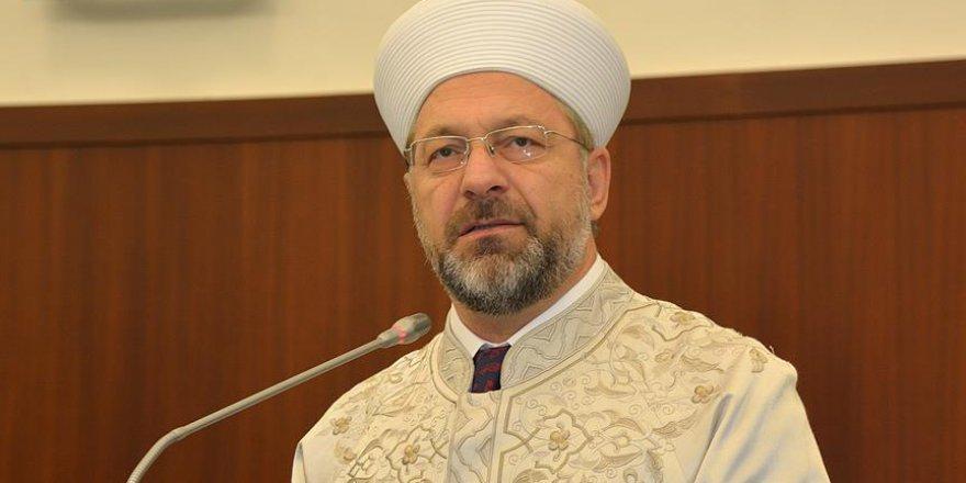 Ali Erbaş: Kur'an'ın Mesajlarını Gündeme Almak Zorundayız