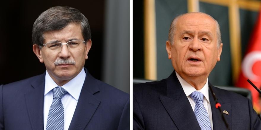 MHP ile Davutoğlu Arasındaki Tartışmaya AK Parti Neden Sessiz?