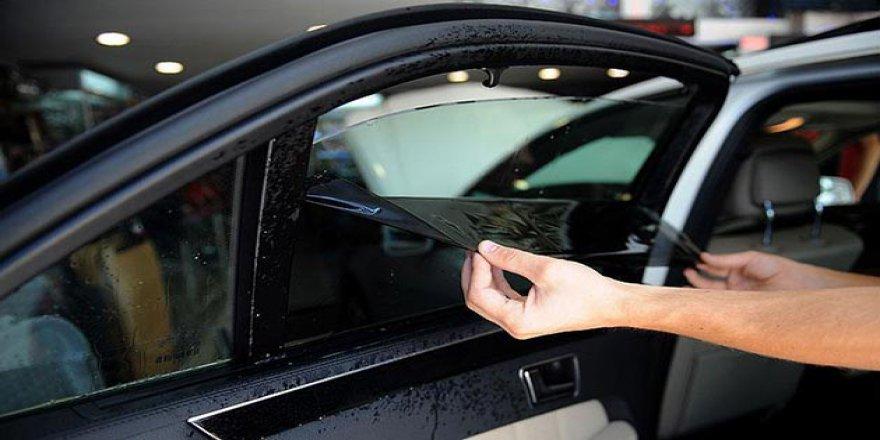 Araçlarda Cam Filmi ve Renkli Cama Yeniden Yasak
