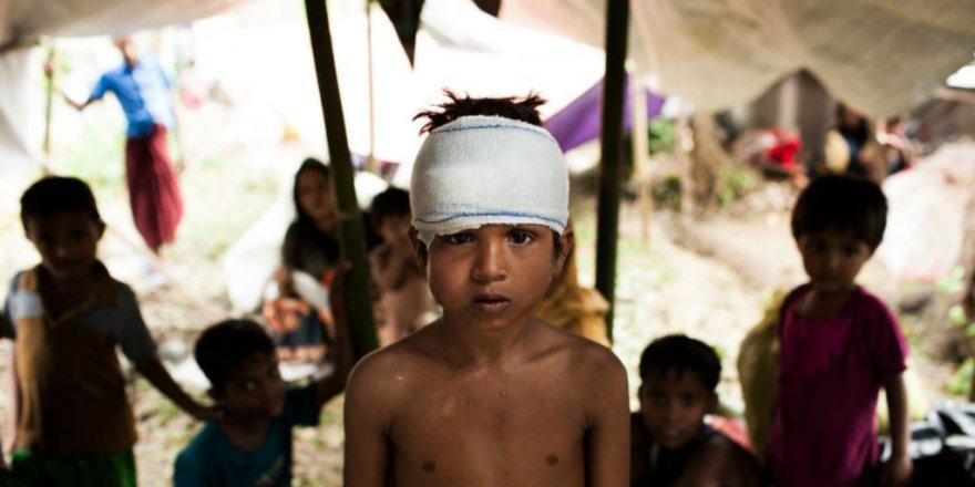 UNICEF'ten Arakanlı Mülteci Çocuklar Raporu