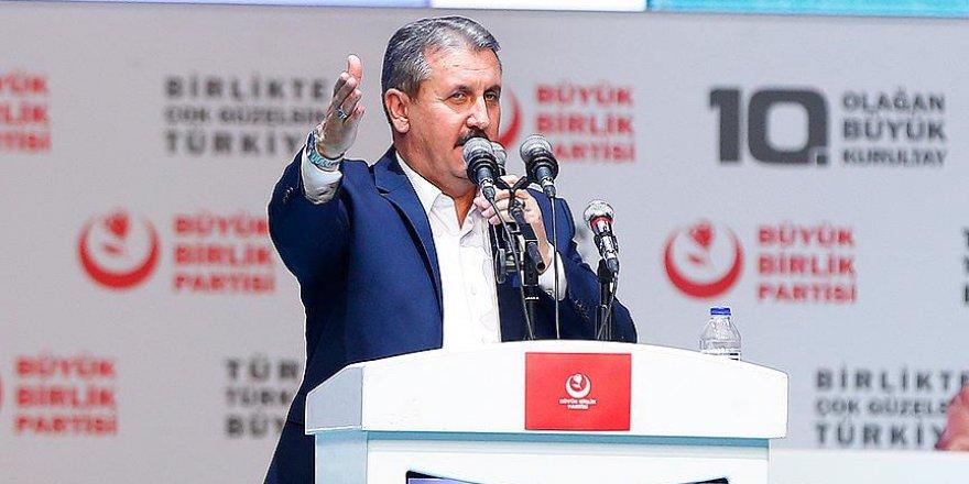 Mustafa Destici, Yeniden BBP Genel Başkanlığına Seçildi