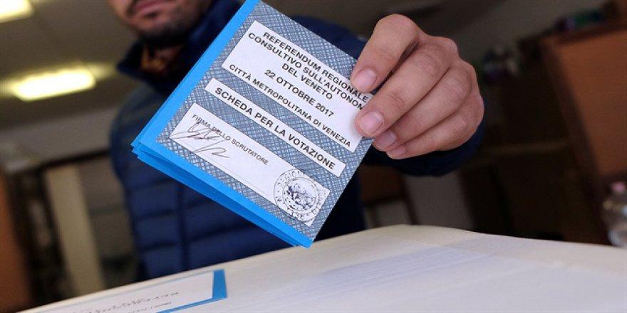 İtalya'da da Referandumdan 'Evet' Çıktı