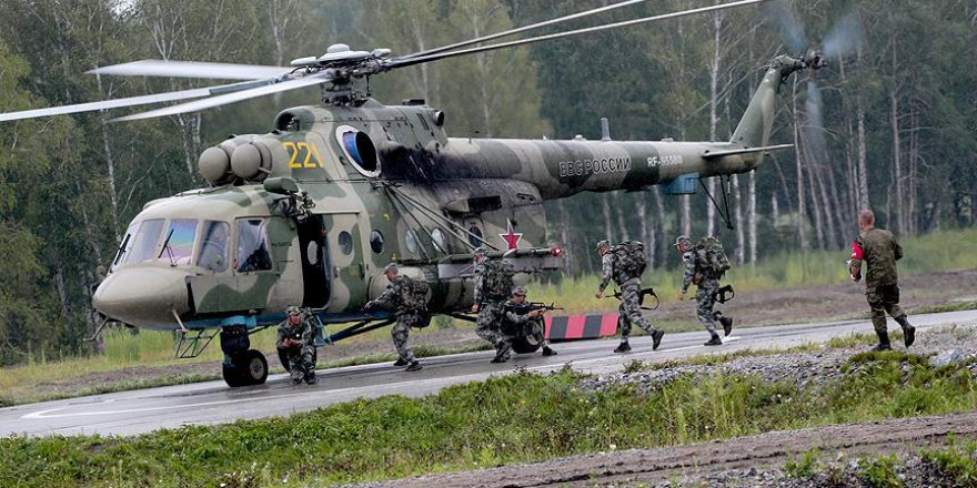 Rusya'da Bir Asker 4 Askeri Öldürdü