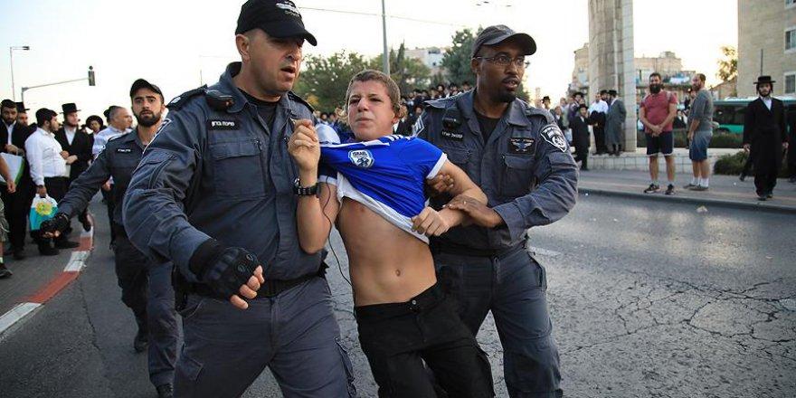 İsrail'de Yahudilerden Askerlik Karşıtı Gösteri: 11 Gözaltı