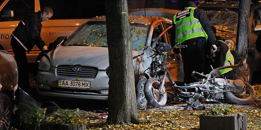 Ukrayna'nın Başkenti Kiev'de Patlama: 1 Ölü, 3 Yaralı