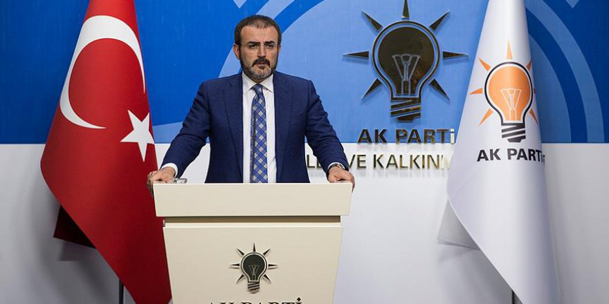 AKParti: 'Esed Hala Ankara'nın Kırmızı Çizgisi'
