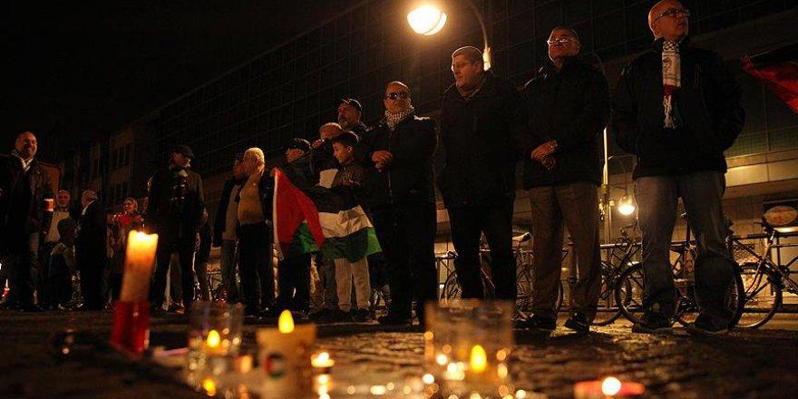 Berlin'de 'İsrail' Protestosu Edildi
