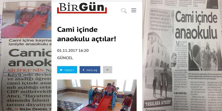 Cami'de Anaokulu İslami Yaşam Dayatmasıymış!