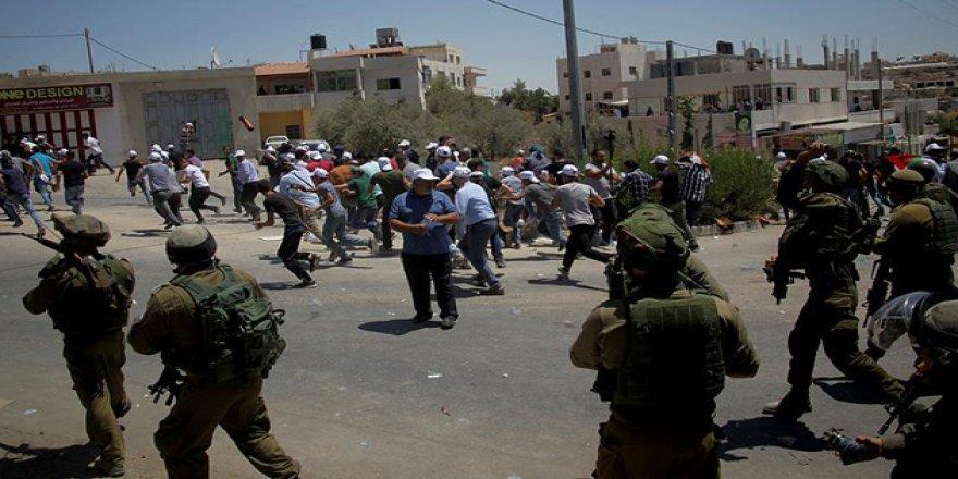 İşgal Güçlerinden Batı Şeria'daki Gösterilere Müdahale
