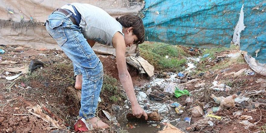 İdlib'deki Göçmen Kamplarında Sağlık Sorunları Artıyor!