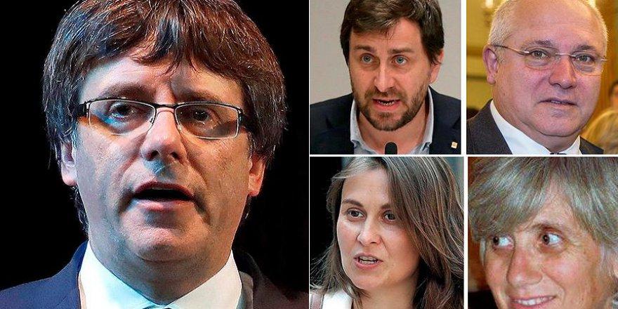 Katalan Lider ve 4 Bakan İçin Tahliye Kararı