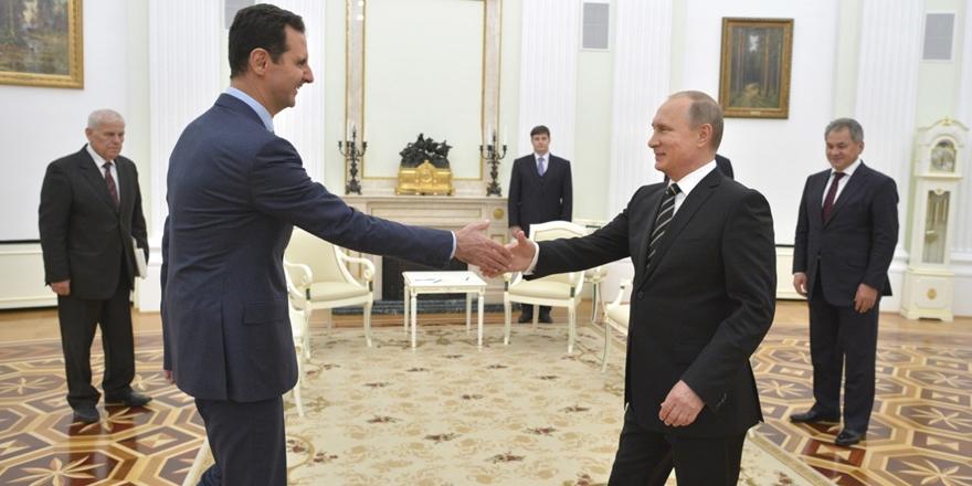 Esed'in Arkasında Putin Var!