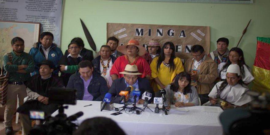 Kolombiya'da Hükümet ve Yerliler Anlaştı
