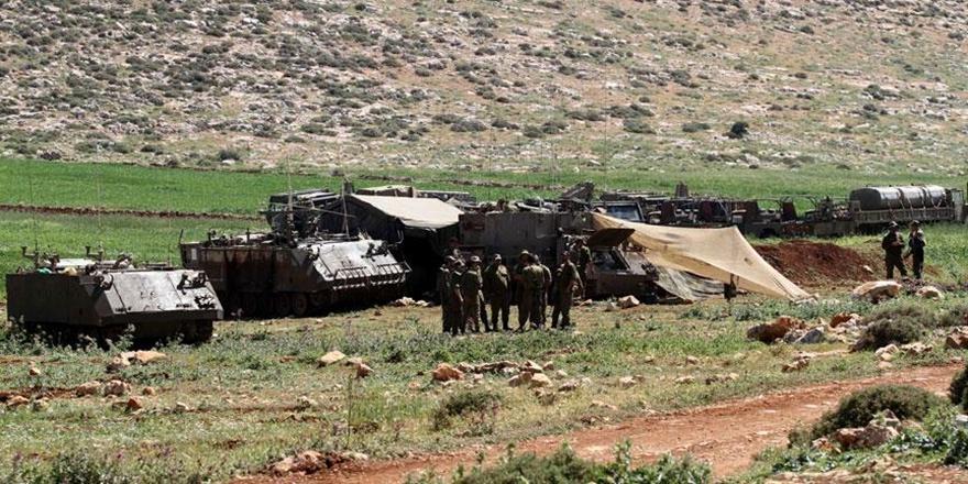 İşgalci İsrail'den Gazze Sınırında Askeri Tatbikat!