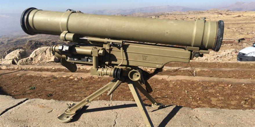 Şırnak'ta Rus Yapımı AntitankFüzesi Ele Geçirildi