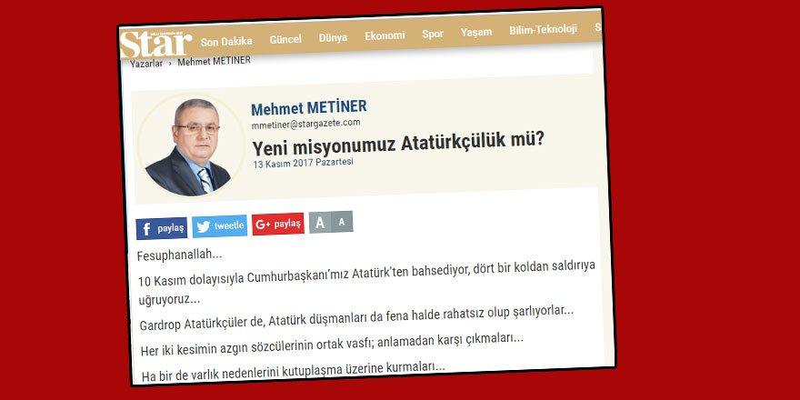 """Kemalizm, Türkiye Toplumunun """"Ortak Değeri"""" Olabilir mi?"""