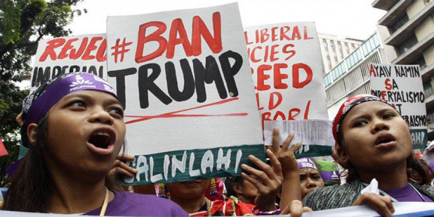 Filipinler'de Trump Karşıtı Protesto