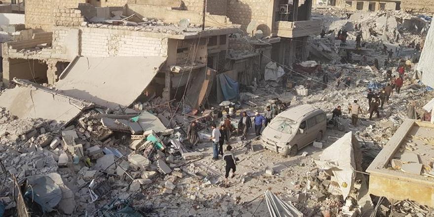 Halep'teki Saldırıda Can Kaybı Sayısı 57'ye Yükseldi!