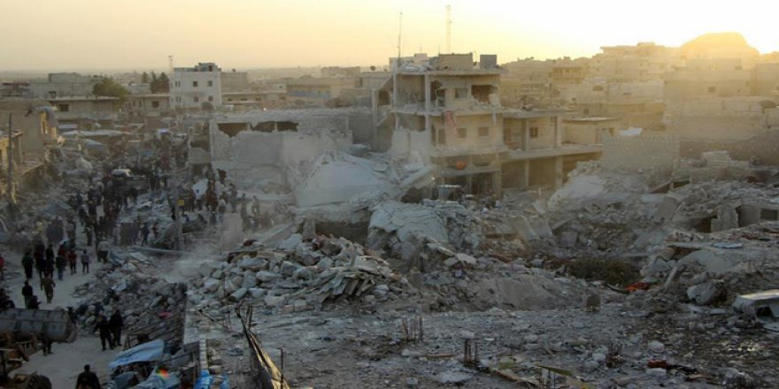 SMDK, Halep'teki Pazar Katliamından Rusya'yı Sorumlu Tuttu