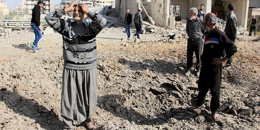 Esed'den Doğu Guta'da 24 Saatte 300'den Fazla Saldırı!
