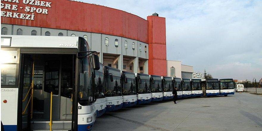 Başkentte EGO Otobüsleri 24 Saat Hizmet Verecek