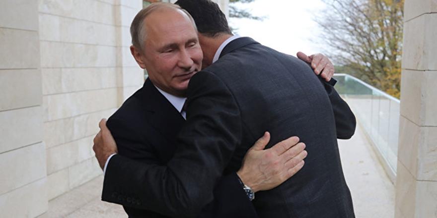 """Rusya Destekli Esed: """"ABD Destekli Kürt Savaşçılar Vatan Hainidir!"""""""