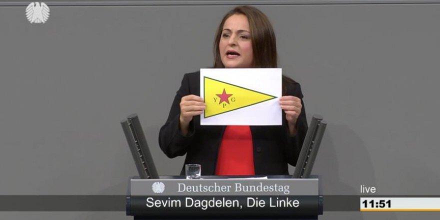 Almanya Meclisinde PKK/PYD Propagandası