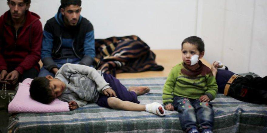 Esed Rejiminin Doğu Guta'daki Saldırılarında 3 Çocuk Öldü
