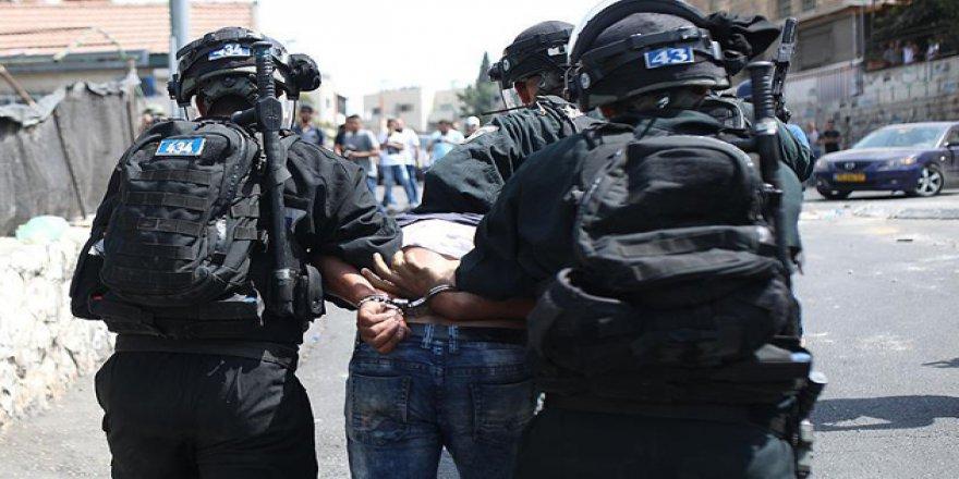 İşgal Güçleri 7 Filistinliyi Gözaltına Aldı