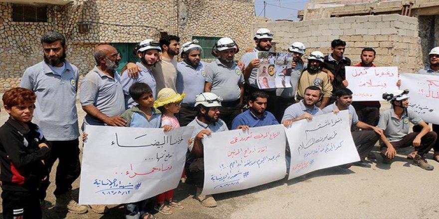 Suriye'de Beyaz Baretlilere Suikast
