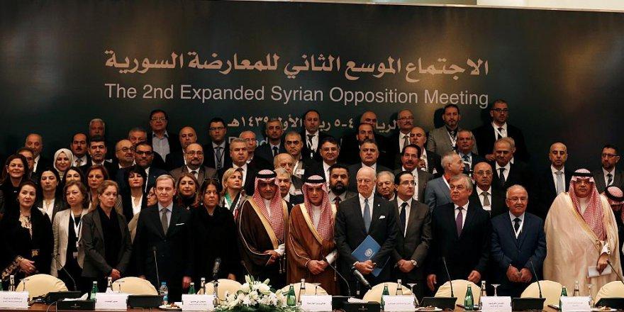 Suriyeli Muhalifler Birleşme Kararı Aldı