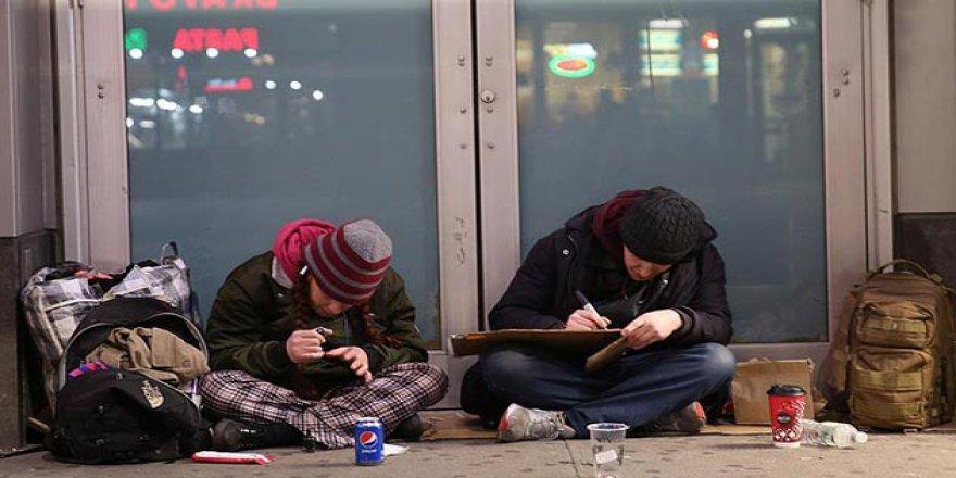ABD'de Evsizlerin Nüfusu Türkiye'den 47 Şehre Bedel