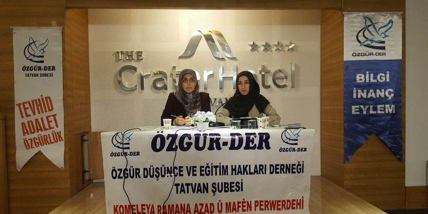 """""""Türkiye'de İslami Hareket İçinde Kadının Yeri"""""""