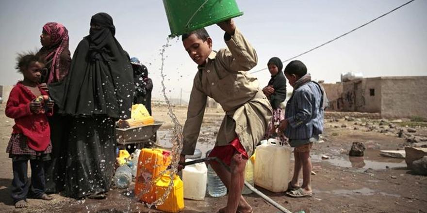 """""""Yemen'de 8 Milyon Kişi Susuz Kalabilir"""""""
