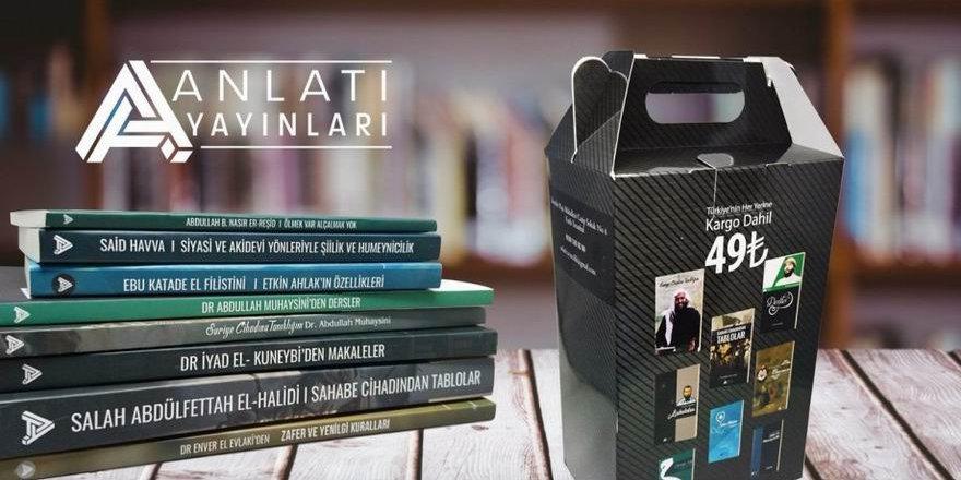 Anlatı Yayınlarından 8 Kitaplık Yeni Set